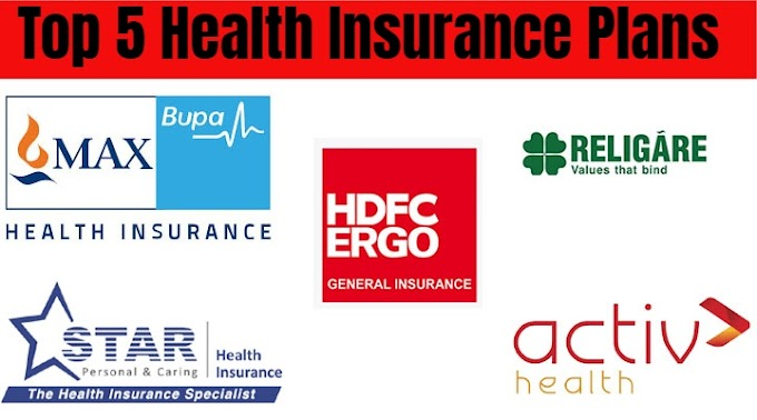 India's Top 5 Health Insurance Plans