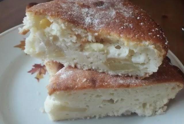 Яблочный пирог фото-рецепт