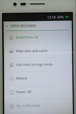 Cara mengatasi Oppo Bootloop Tanpa Flash