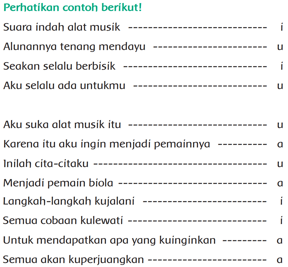 Kunci Jawaban Halaman 14, 16, 17, 18, 21 Tema 6 Kelas 4