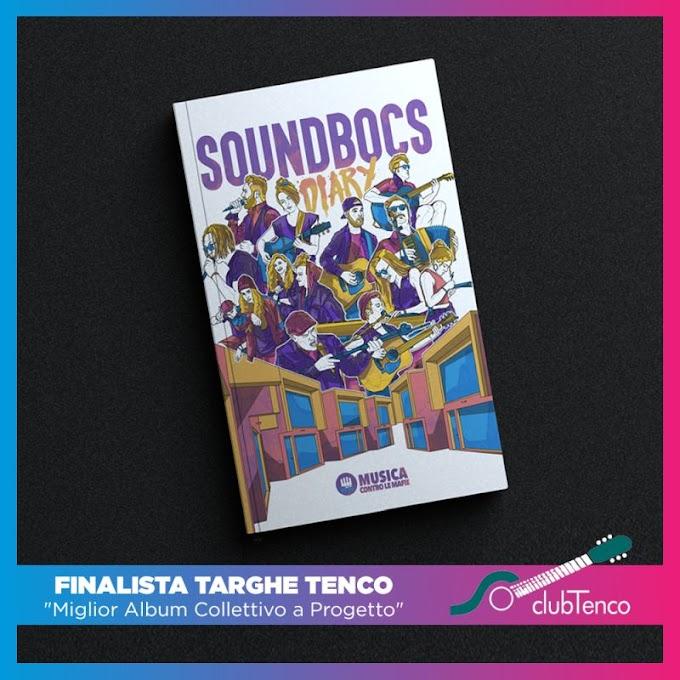 """""""Sound BoCS Diary"""", il libro contro le mafie in finale alle Targhe Tenco 2021"""