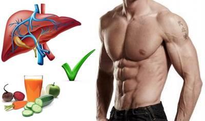 Un hígado saluable permite que tu cuerpo queme grasa y gane músculo
