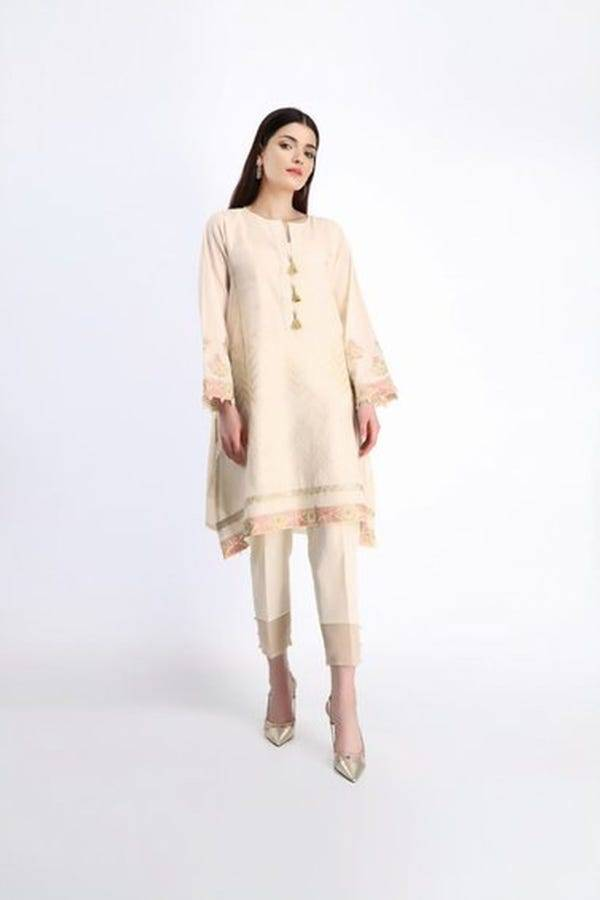 Khaadi Stitched Lawn 2020   Give Your Style a New Natural Edit