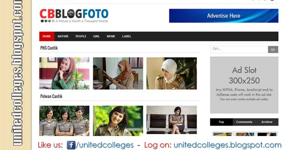 Cb blog foto responsive blogger template for Photography blogger templates