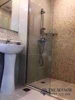 Chung cư The Manor 1 tầng thấp bán hoặc cho thuê nhà trống | phòng tắm đứng