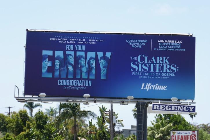 Clark Sisters Gospel Emmy FYC billboard