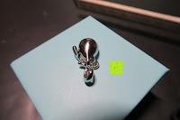 hinten: Neoglory Jewellery Silber mit Swarovski Elements Halskette Armkette Ohrringe Tropfen blau