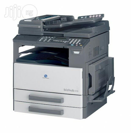 Konica Minolta Bizhub 210 Driver Windows