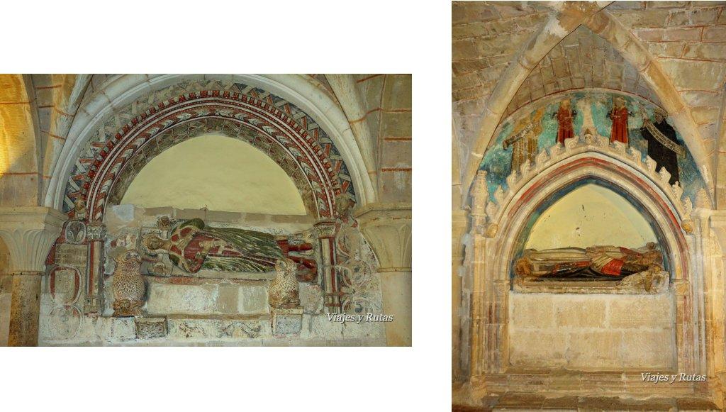 Sepulcros de la Capitular del Monasterio de Veruela