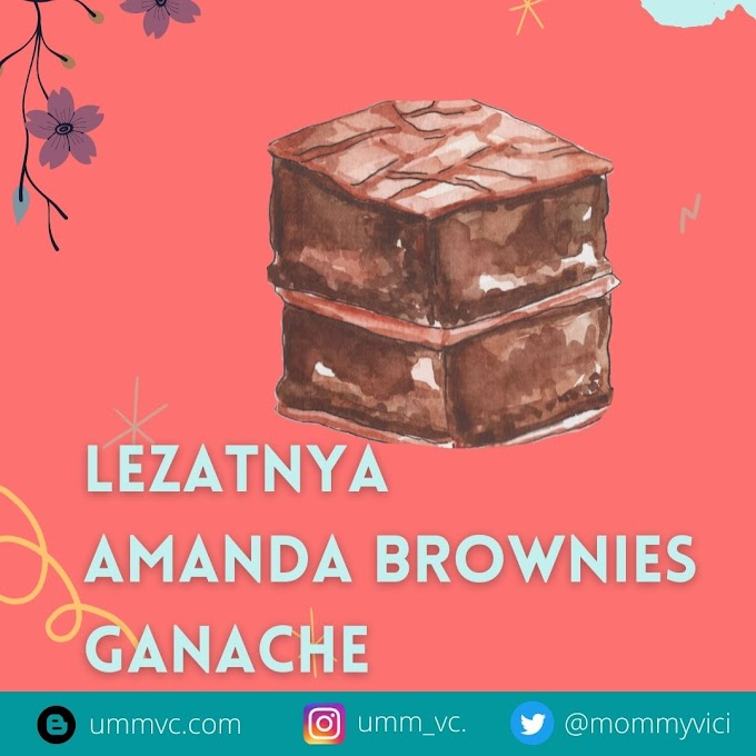 Lezatnya Amanda Brownies Ganache