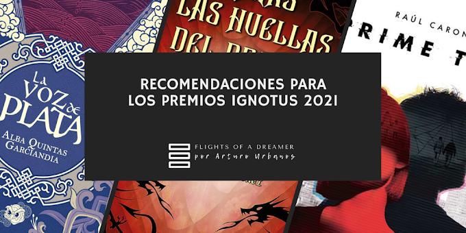 Recomendaciones para los Premios Ignotus 2021
