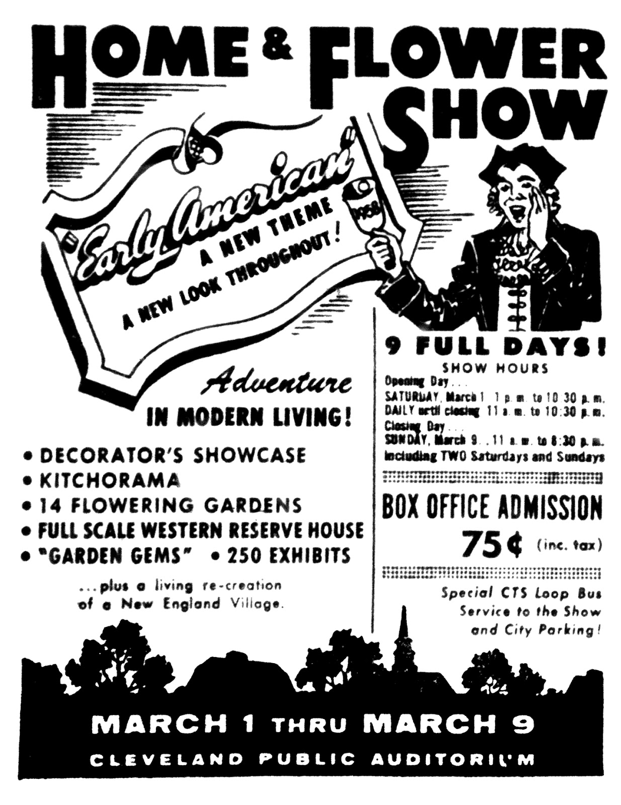 Brady\'s Lorain County Nostalgia: Cleveland Home and Flower Show Ad ...