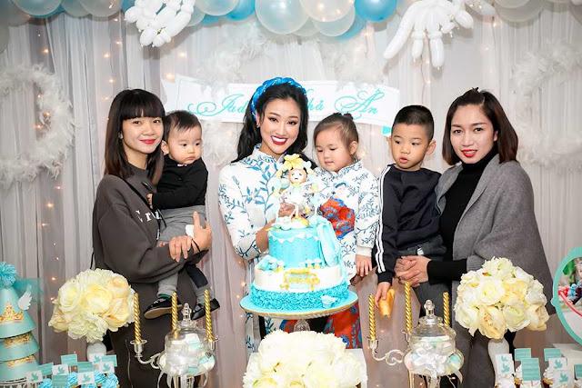 Trang trí sinh nhật tại Hoàng Mai - Bé Khả Ngân 2 tuổi