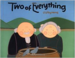 http://www.amazon.com/Two-Everything-Lily-Toy-Hong/dp/0807581577/ref=sr_1_1?s=books&ie=UTF8&qid=1402865584&sr=1-1&keywords=two+of+everything