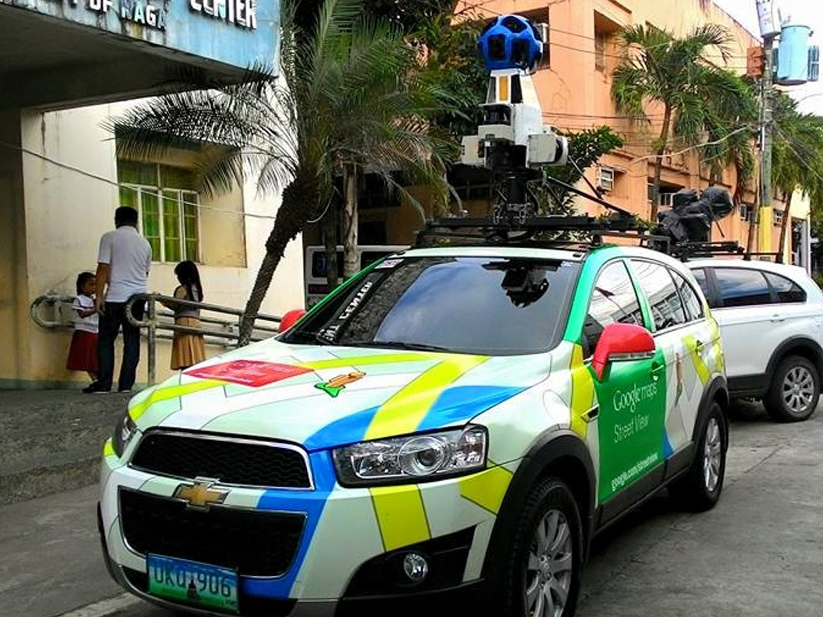 google takes street view cars trekkers to naga city. Black Bedroom Furniture Sets. Home Design Ideas