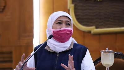 Libur Panjang, Gubernur Khofifah Wanti-Wanti Waspadai Risiko Penularan Covid-19 dan  Hidrometeorologi