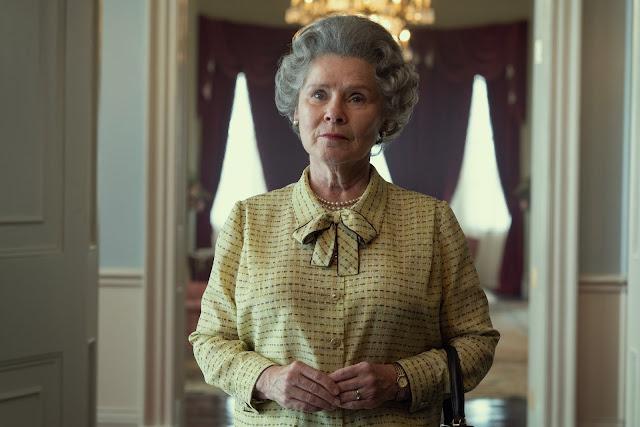 Netflix divulga primeira imagem de Imelda Staunton como Rainha Elizabeth II em 'The Crown'   Ordem da Fênix Brasileira