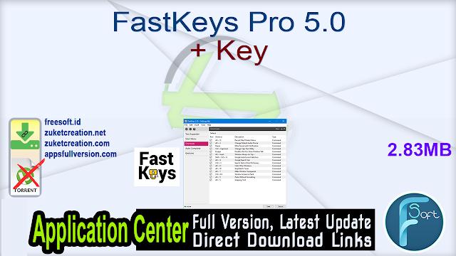 FastKeys Pro 5.0 + Key