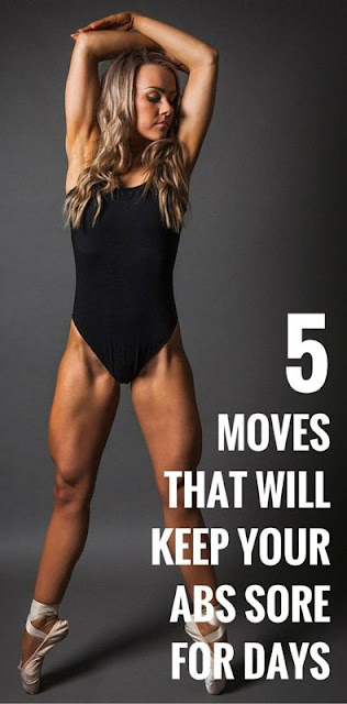 5 Exercises That Will Keep Your Abs Sore For Days