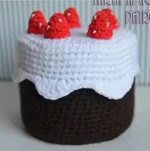 Tarta Amigurumi Crochet
