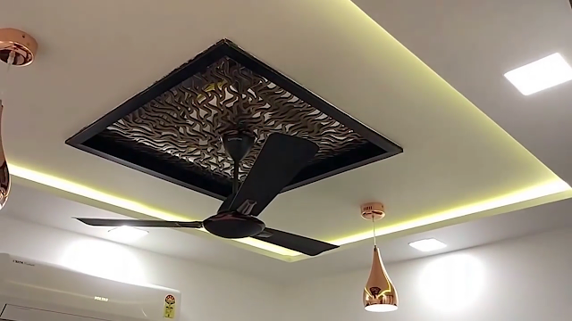 Latest Ceiling Ideas For Home With Fan (1)