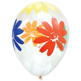 воздушный шарик прозрачный