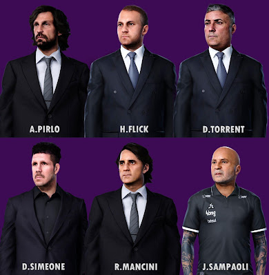PES 2020 Managers Facepack by Yeshua Facemaker