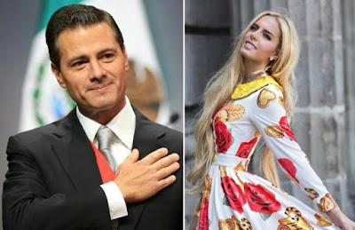 Circula nueva foto de Peña Nieto con la modelo Tania Ruiz Eichelmann