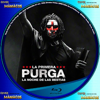 GALLETA LA PRIMERA PURGA - THE FIRST PURGE - 2018
