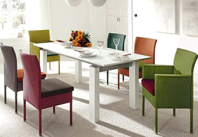 Colorful Dining Table Sets for Home