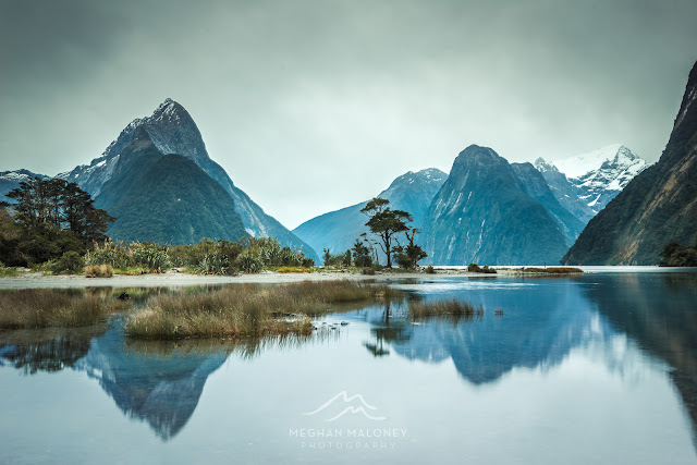 moody milford sound sunrise