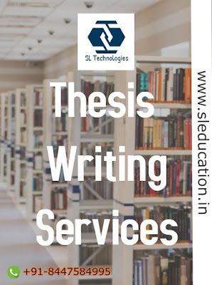 International Thesis Writing Service and Publication House :: Call : 8181096096