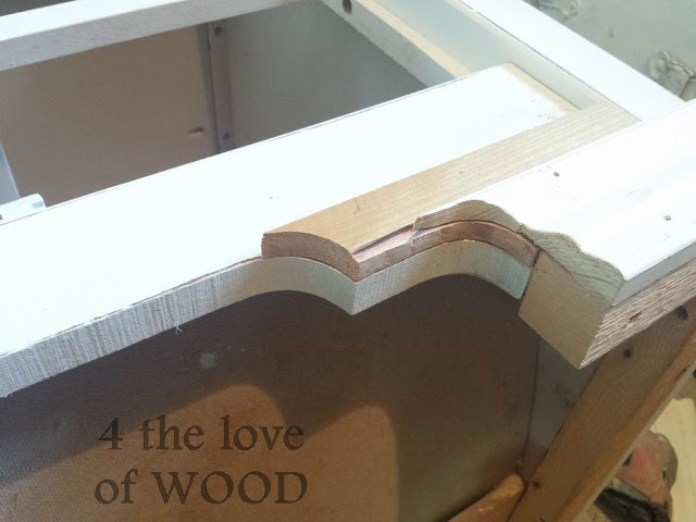 4 the love of wood: ANOTHER WAY TO ADD HEIGHT TO FURNITURE