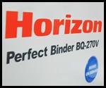 Mesin lem panas Horizon BQ 270
