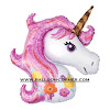 Balon Foil Pink Unicorn JUMBO