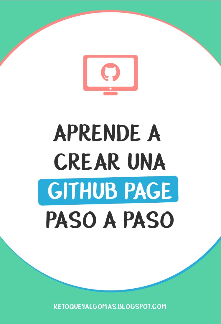 crear una github page