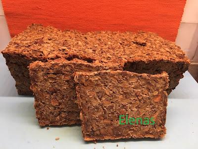 Glutenfritt bröd - Äventyrsbröd - efter ett amerikanskt recept