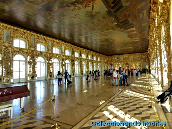 Salón de Baile del Palacio de Catalina en Pushkin