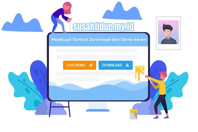 Membuat Tombol Download dan Demo Keren