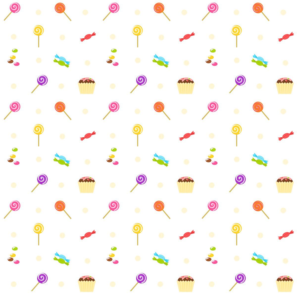 Free digital birthday scrapbooking paper : sweets ...