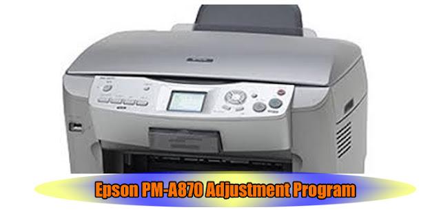 Epson PM-A870 Printer Adjustment Program