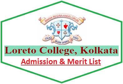 Loreto College Merit List