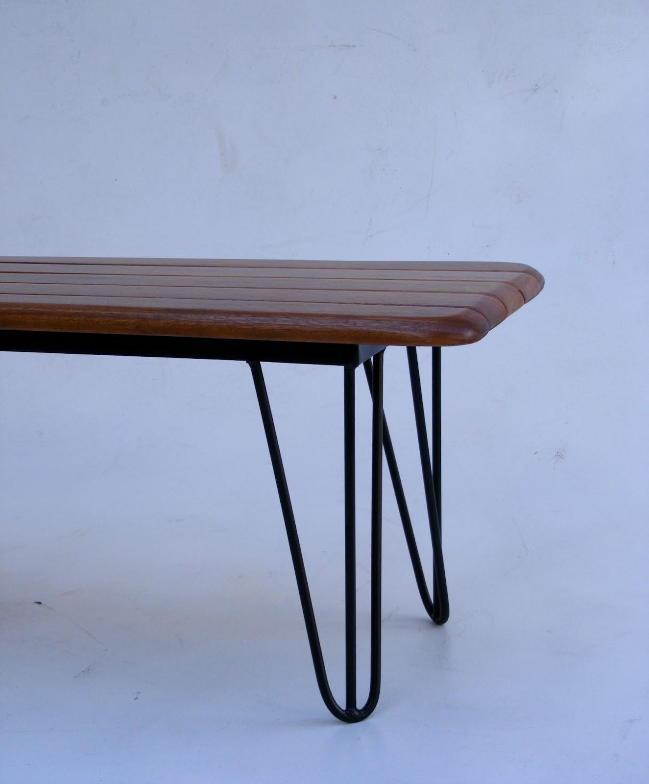 Wood Coffee Table Metal Legs: VAMP FURNITURE: New Vintage Furniture Stock At Vamp