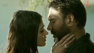 Ajay Devgn & Ileana D'Cruz HD Wallpaper Of  Baadshaho Movie