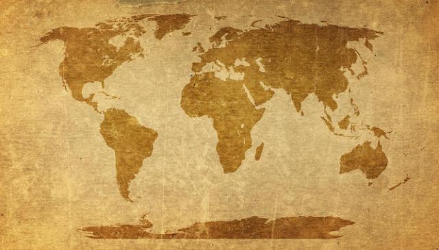 Maailmankartta tapetti vanha kartta tapetti