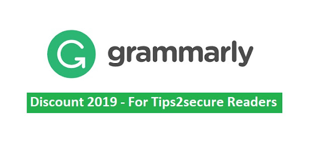grammarly discount 2019