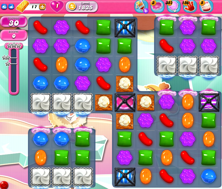 Candy Crush Saga 1835