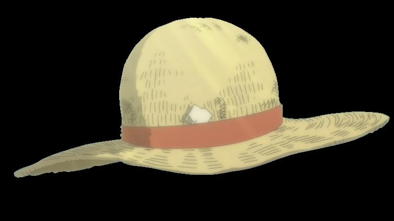 Sombrero de paja render