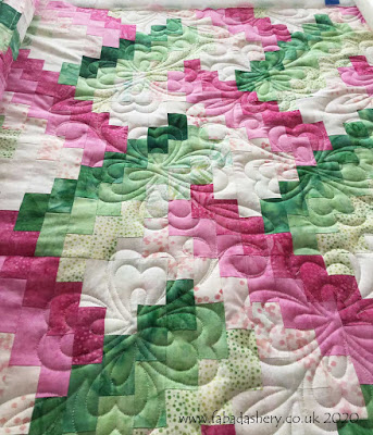 Weaver Fever quilt with Be Mine quilt pattern