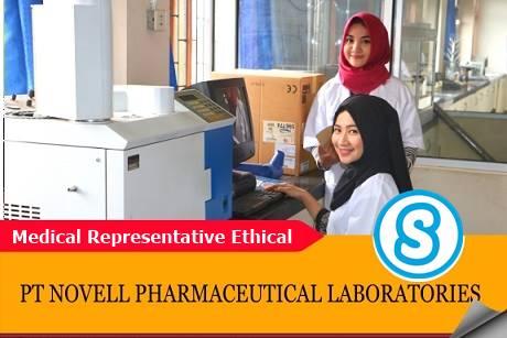 Lowongan Kerja MR PT. Novell Pharmaceutical Laboratories Terbaru